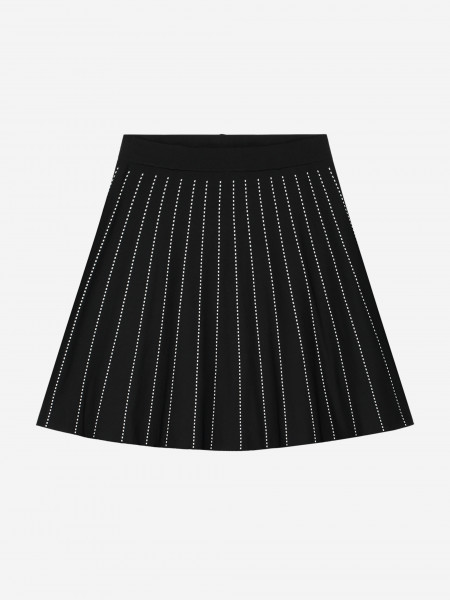 SKIRT WITH STRIPES