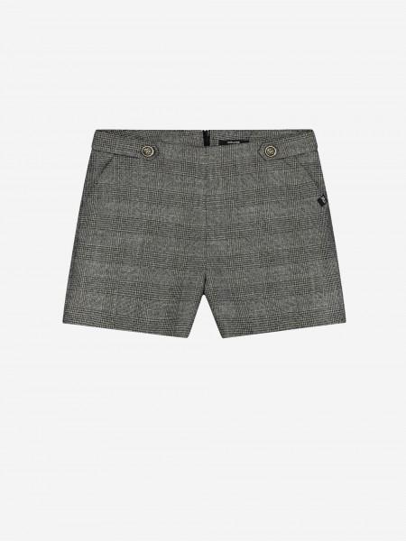 Shorts met ruitjesprint
