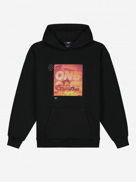Hoodie with ONE artwork