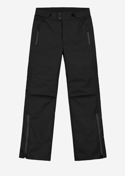 Zwarte ski broek met artwork