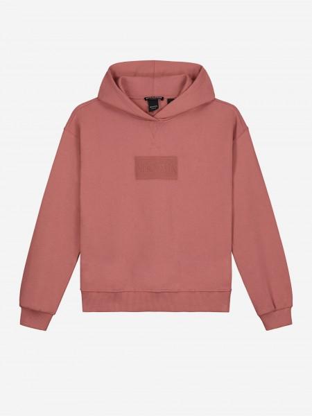 Vintage pink hoodie
