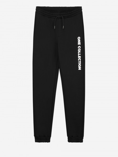 SWEATPANTS WITH ONE COLLECTION LOGO