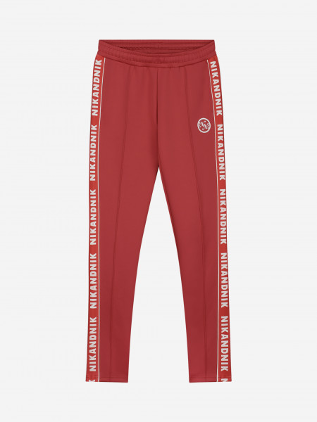 Trackpants with logo trim