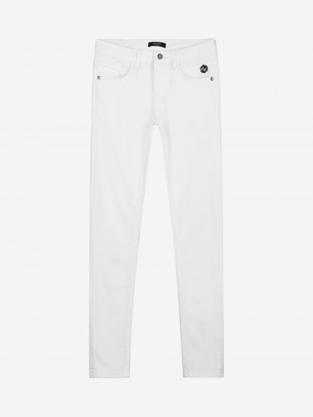 Witte skinny jeans