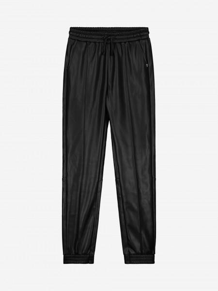 Vegan Leather Look Pants