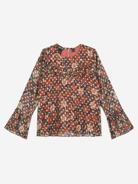 Top with all over flower print