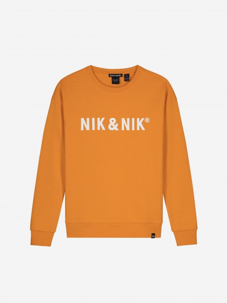 SWEATER MET NIK&NIK-LOGO