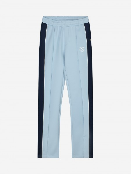 TRACK PANTS WITH STRIPE AND SPLIT