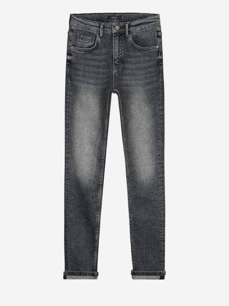 Zwart grijze skinny jeans