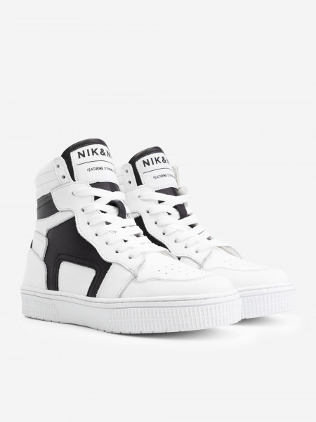Hoge Sneaker met zwart