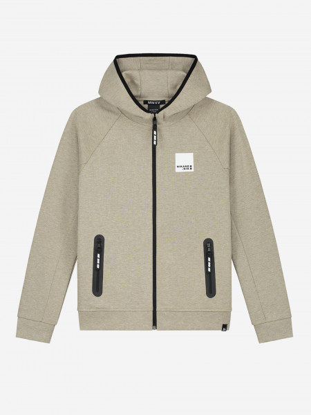 HOODIE WITH ZIPPER AND POCKETS