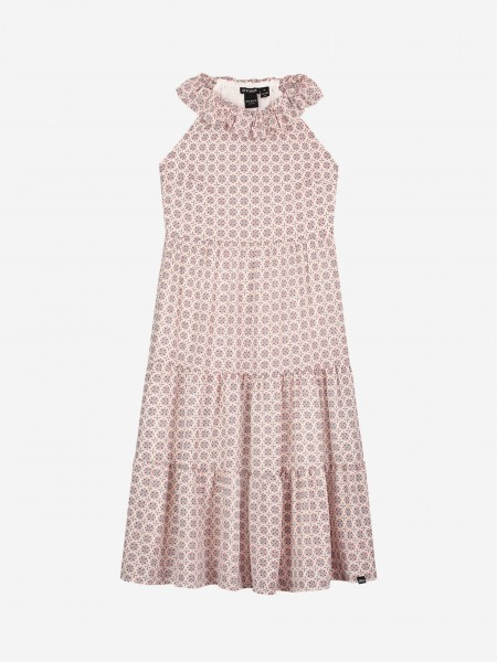 Maxi dress with all over print