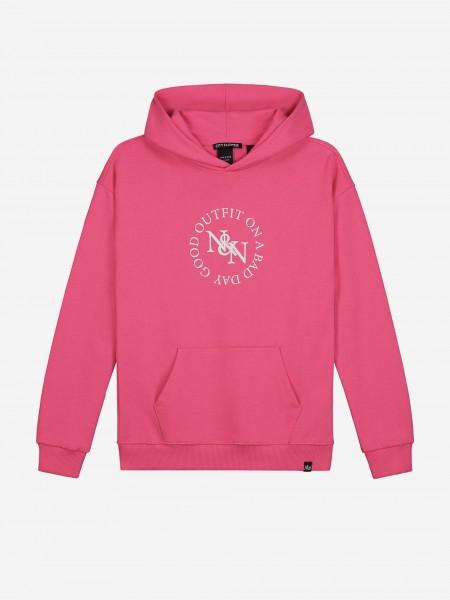 Roze hoodie
