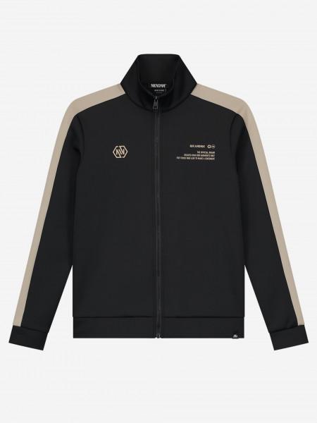 Jacket with trim