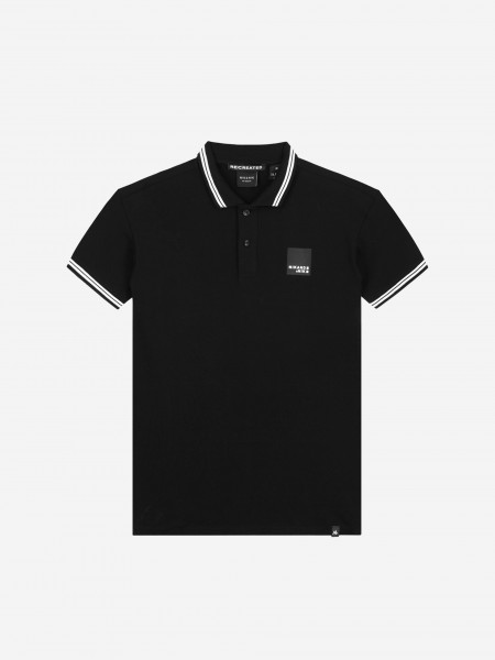 Polo with artwork
