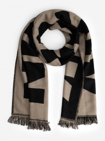 Knitted Scarf with NIKANDNIK logo